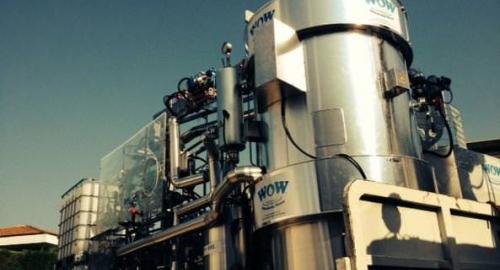 WOW, il depuratore di acque radioattive